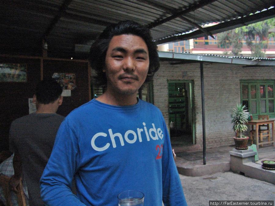Джамьянг, хозяин Stupa Dining