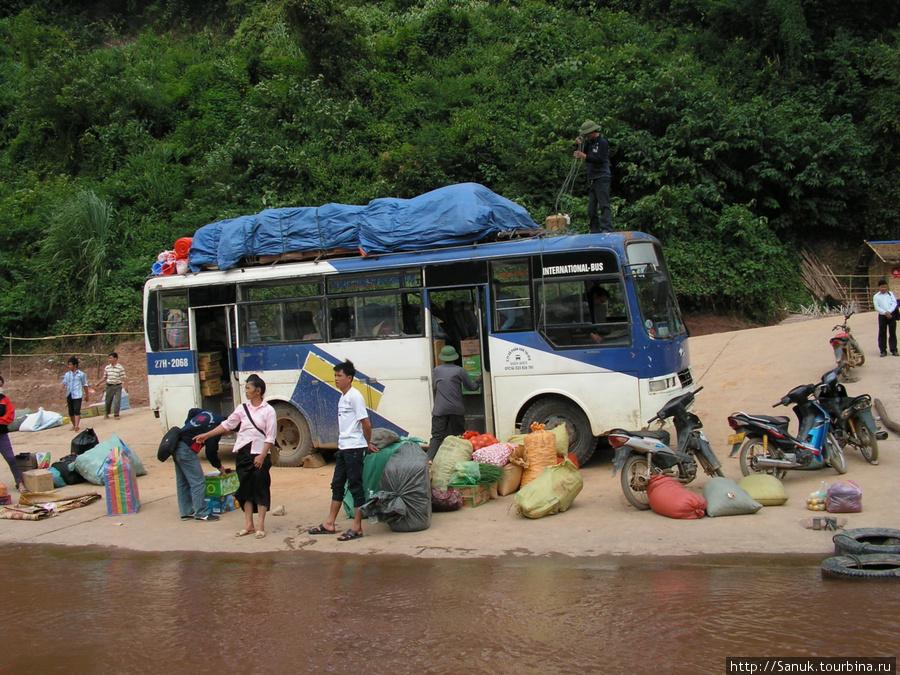 Лаос, Muong Khoa. Приехали