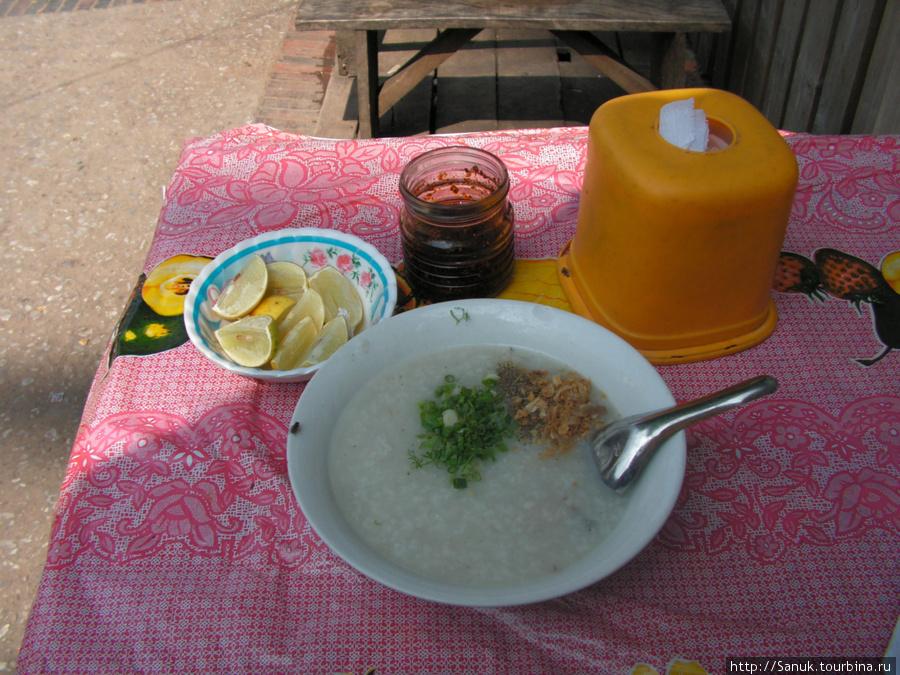 Luang Prabang. Рисовый суп