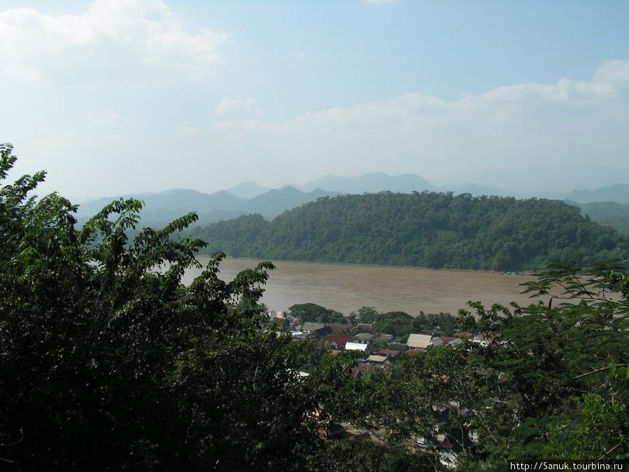 Luang Prabang. Река Меконг