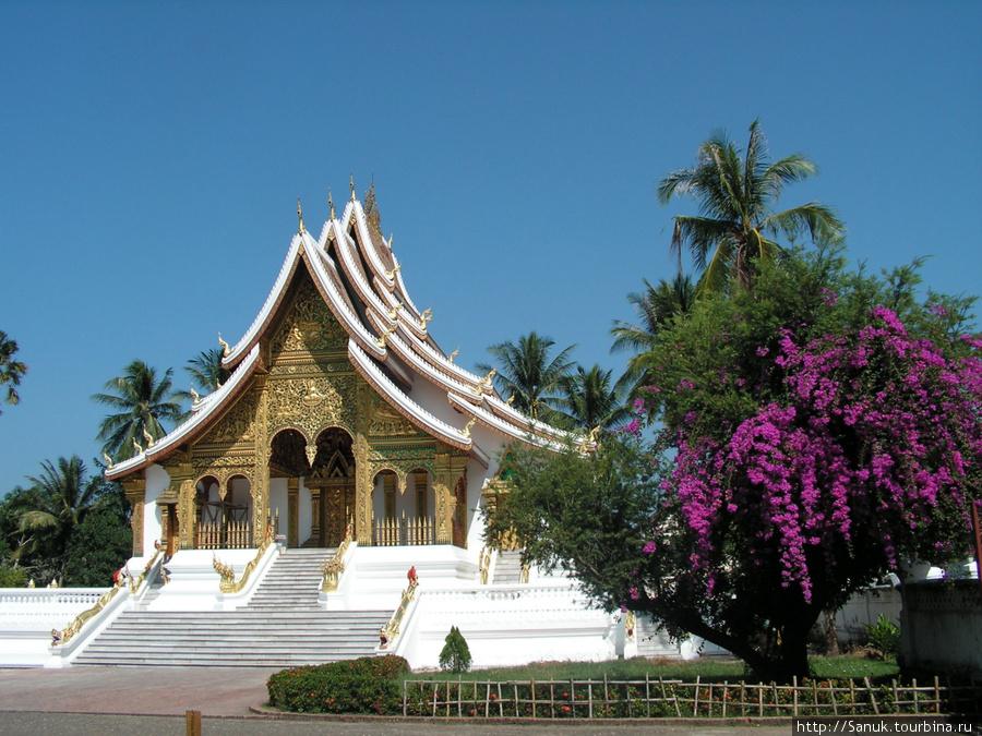 Luangprabang National Museum. Haw Prabang