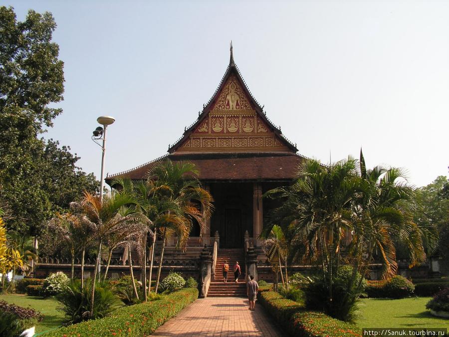 Вьентьян. Ho Phra Keo Museum