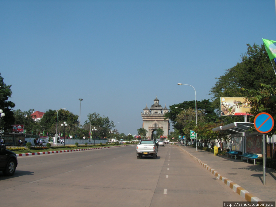 Столица Лаоса — Вьентьян