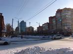 Многие дома в Благовещенске построены еще в советское время и в советском вкусе