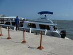 Сейчас на острова развозят на крытых катерах