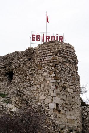 Руины крепости Егирдир