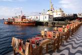 Столики на набережной в Измире