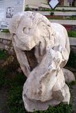 Каменный лев на Агоре