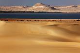 Вид на Siwa Lake c одной из дюн