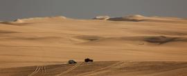 Джипы теперь частые гости в Great Sand Sea.