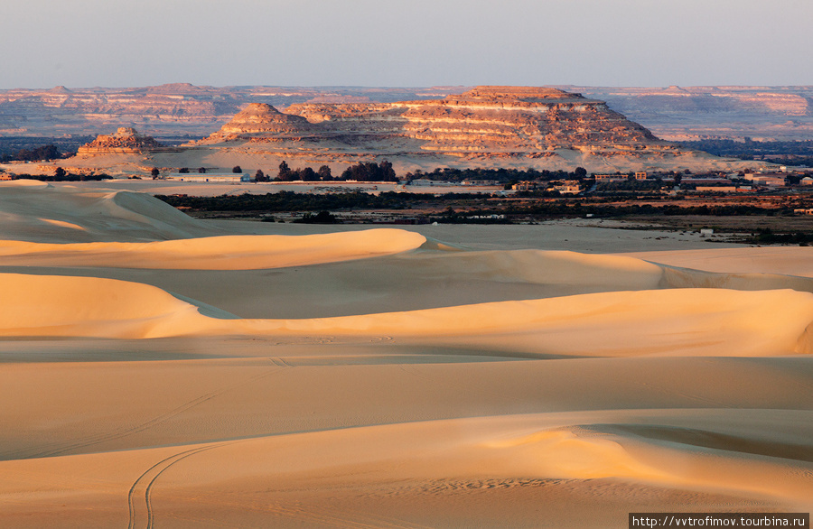 Вид с одной из дюн на Сив