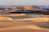 Вид с одной из дюн на Сиву