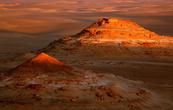 Great Sand Sea на закате — незабываемое зрелище