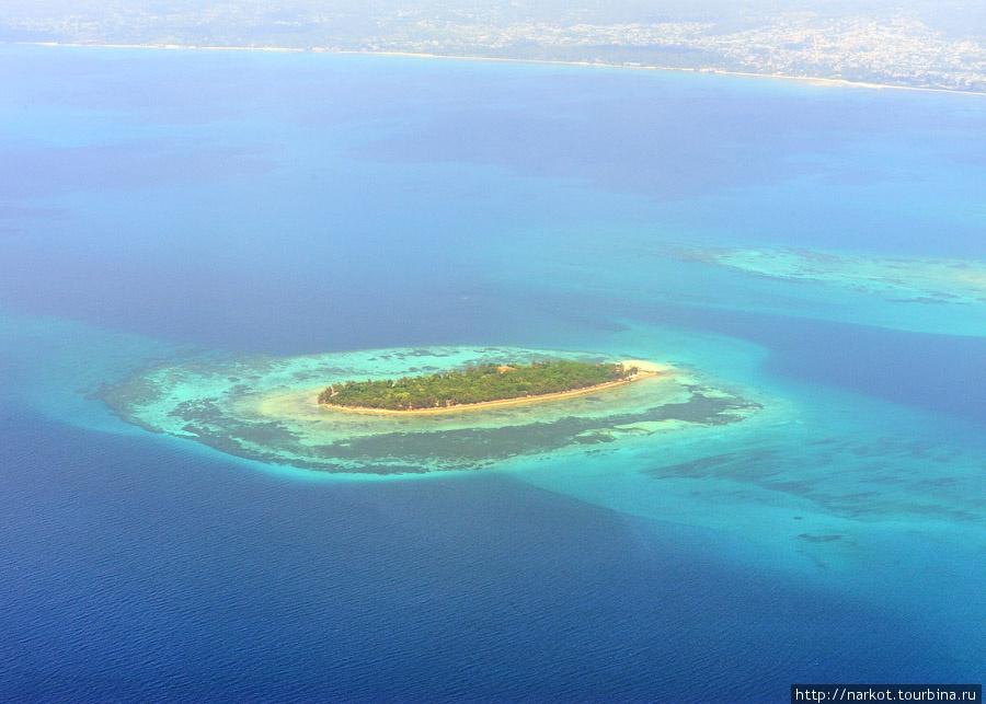 один из десятков островков вокруг Занзибара