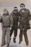 Слева Геннадий Стрекалов. Цахкадзор, 1979-1981 гг.