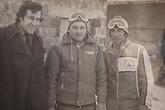 В центре Геннадий Стрекалов. Справа — тренер по горым лыжам. Цахкадзор, 1979-1981 гг.