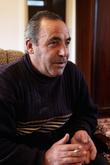 Алексан Аракелян, бывший начальник спасательной службы Главной спортивной база СССР, сопровождающий тренер группы космонавтов в 1979-1981 гг. Декабрь 2010 г.
