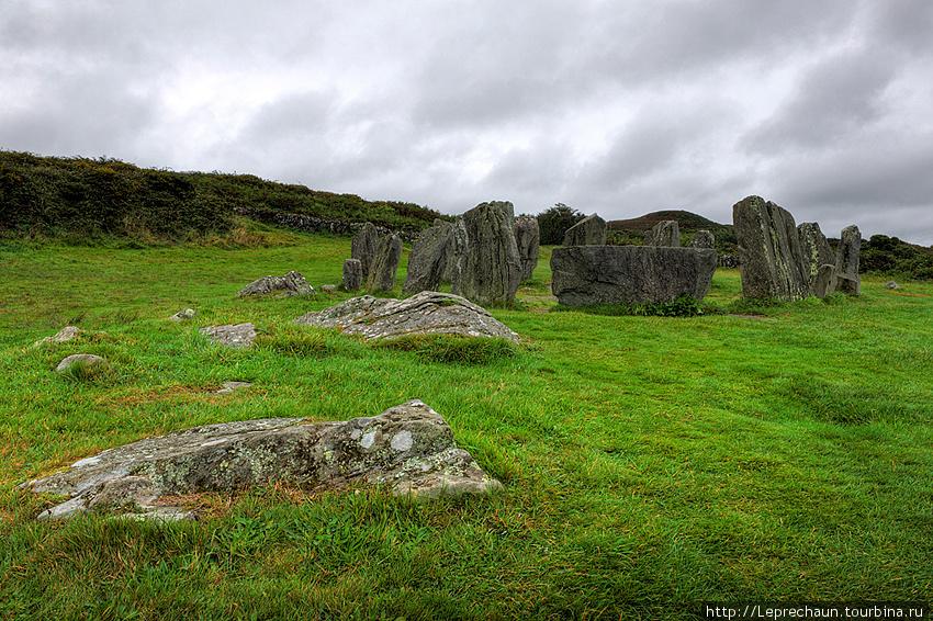 Каменный круг в Дромбег