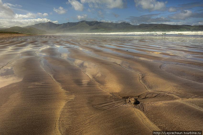 Пляж в заливе Брендона