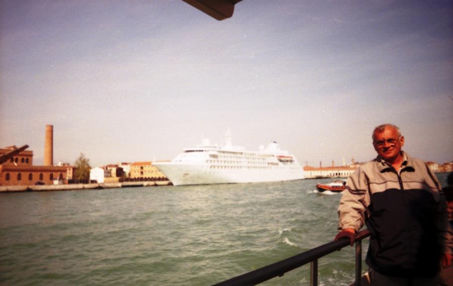 Лайнер в Венеции