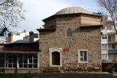 Во дворе мечети Мюрадие