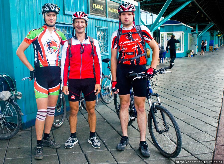 Самарские велосипедисты.