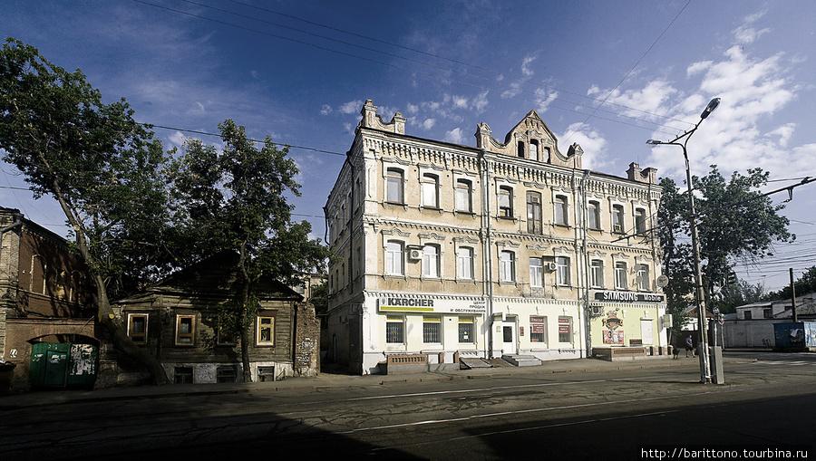 На улочках старой Самары.