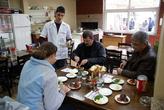 В кафе в Салихли