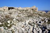 Руины внутри крепости