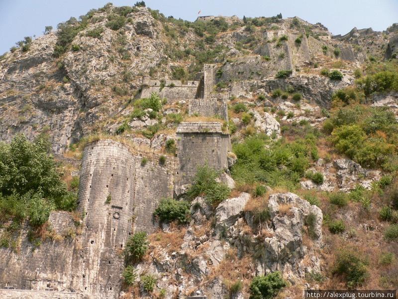 Которская крепость.