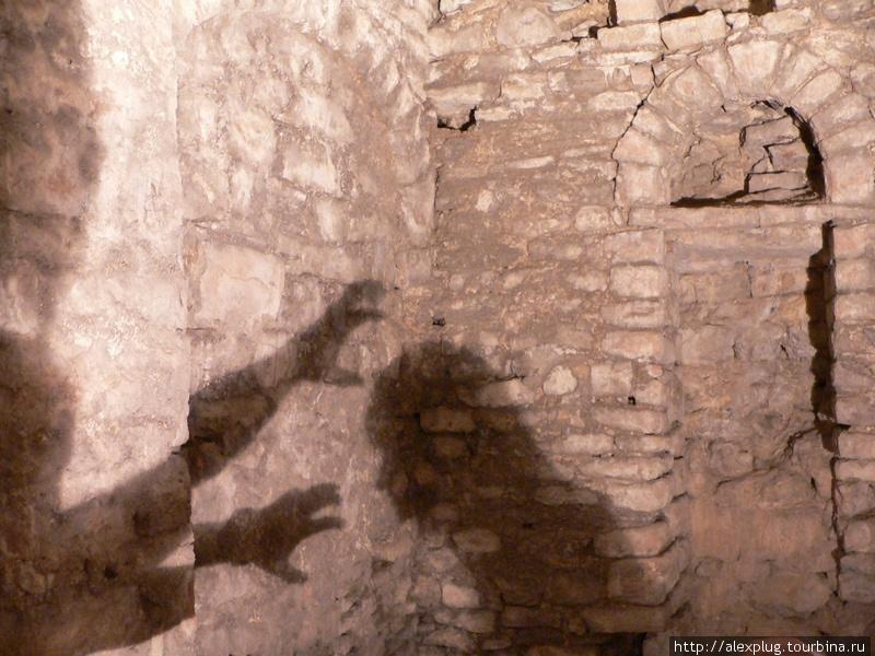 Кошмары подземелий крепости Старый Бар.