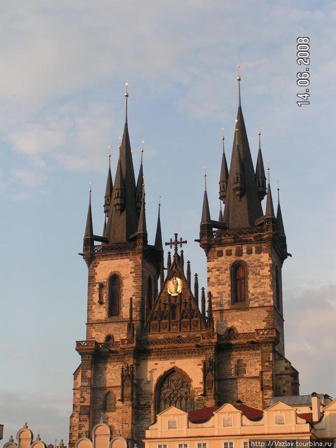 Башни храма