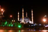 Мечеть Селимие ночью