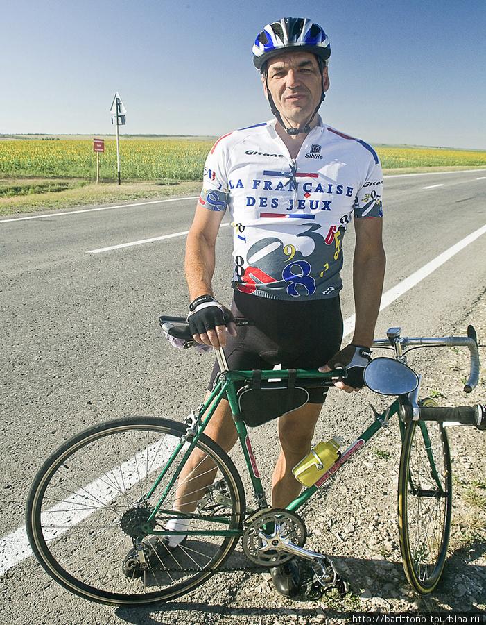 Сызранский велосипедист.