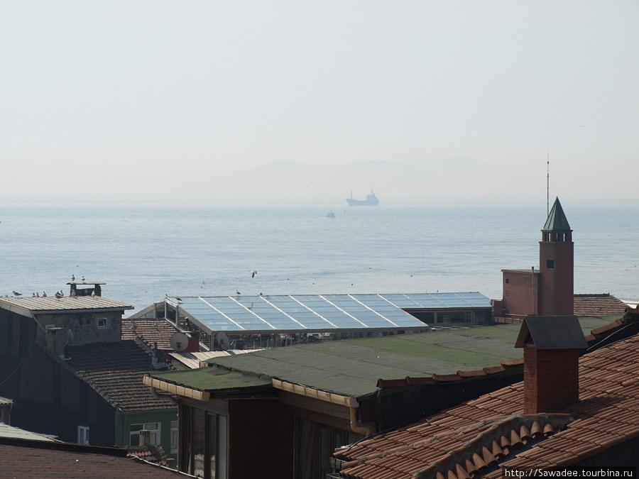 Виды с крыши отеля