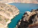 Вид на плотину Чарвакского водохранилища