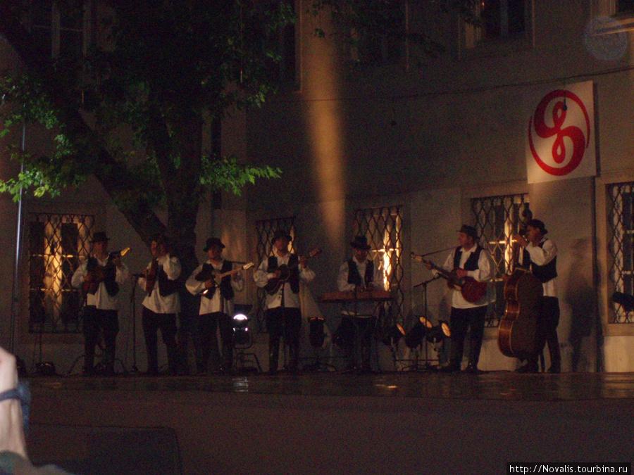 песни народов Хорватии