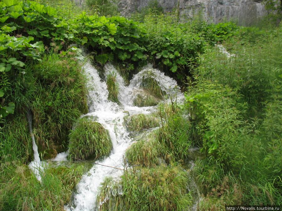 Хрусталь и бархат Плитвицких озер