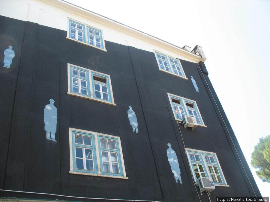 Пула. Дом с привидениями