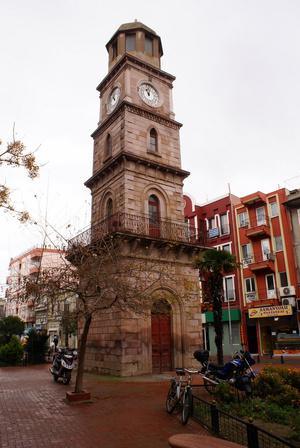 Башня с часами в Чанаккале