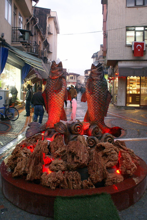 Две рыбы в Эдирне