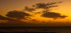 закат над лагуной