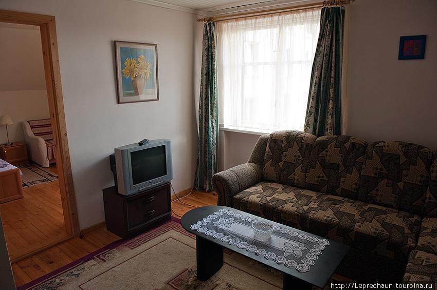Спальня 1 — она же гостиная