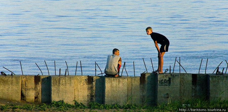 Саратовские рыбаки.