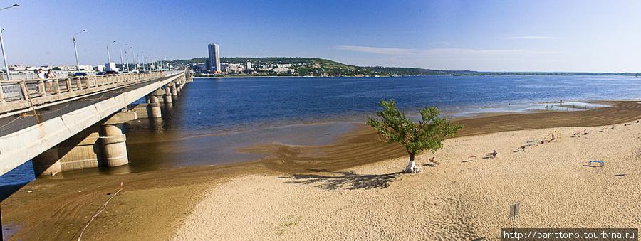 Саратовский городской пляж.