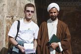 Я и Ахмад Реза Карими