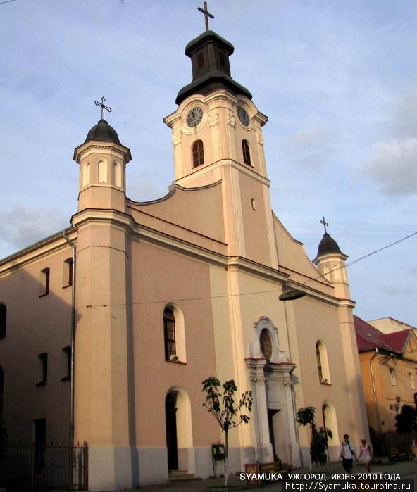 Римо-католический костел Св. Юрия.