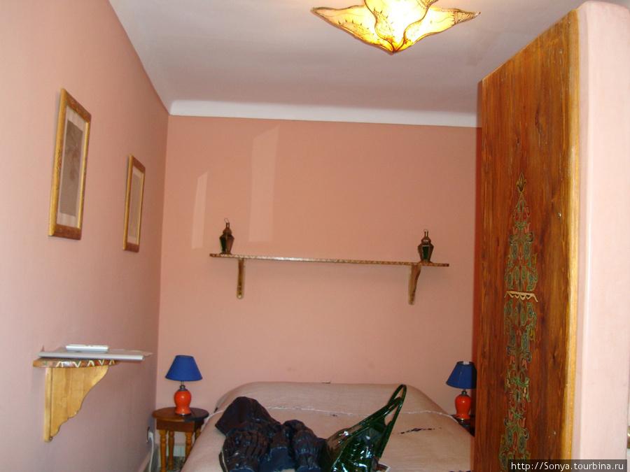 Комната на террасе риада Дарна