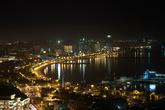 Самое популярное место съемки в Баку. Бакинская бухта.