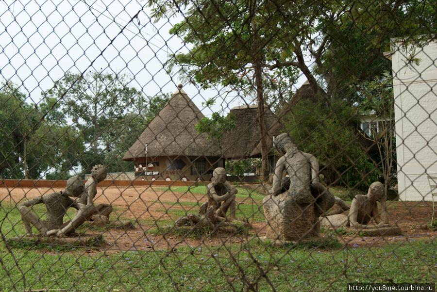 в Национальном музее Уганды